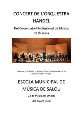 Concert del conservatori de música de Vila-seca