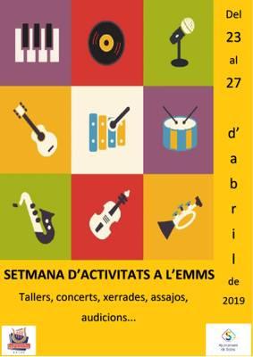 SETMANA D'ACTIVITATS DE L'EMMS