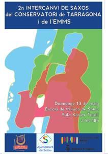 Trobada de saxos a l'Escola de Música