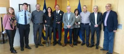 L'Ajuntament lliura el pin de plata a 2 treballadors de Salou pels seus 25 anys de servei