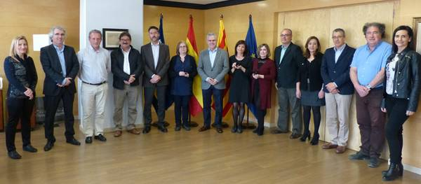 L'Ajuntament lliura el pin de plata a 4 treballadors de Salou pels seus 25 anys de servei