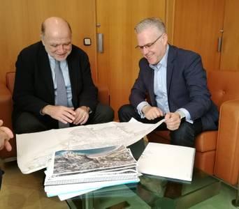 L'alcalde de Salou es reuneix amb el subdelegat del Govern per reforçar l'impuls als projectes d'interès municipal de competència estatal