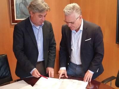L'alcalde de Salou es reuneix amb el subdelegat del Govern