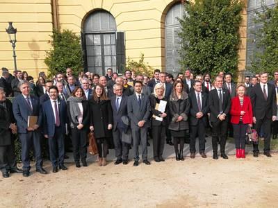 L'alcalde de Salou ha participat avui a la Taula Estratègica del Corredor Mediterrani