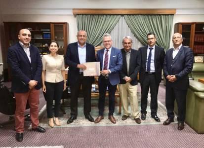 L'alcalde de Salou, Pere Granados, participa a unes jornades celebrades a Agadir i Assa (Marroc)