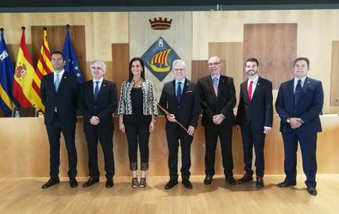 L'alcalde de Salou signa el nou Cartipàs Municipal pel mandat 2019-2023