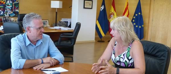 La Consellera de Relacions Ciutadanes i Institucionals del Govern de Navarra visita Salou