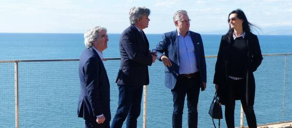 Salou mostra al subdelegat del govern els projectes pendents al litoral de Cap Salou