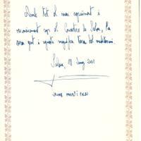 Jaume Matas i Palou, ministre de Medi Ambient, 18-6-2001