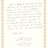 Maria Jesús Vila Segrià, delegada territorial de Medi Ambient de la Generalitat, 9-11-2002