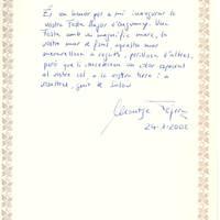 Montse Tejera, 24-1-2002
