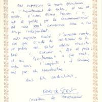 Núria de Gispert, Consellera de Governació, 29-10-2002