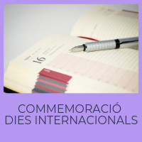 Commemoració dies internacionals