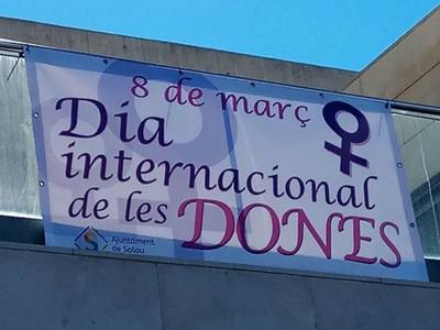 Salou se suma al Dia Internacional de les Dones amb la lectura d'un manifest i altres actes paral·lels