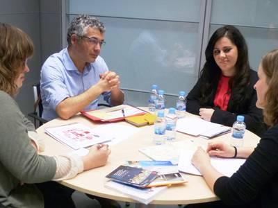 El secretari d'Igualtat, Migracions i Ciutadania de la Generalitat visita Salou per conèixer in situ els serveis que s'ofereixen des de Benestar i Serveis Socials
