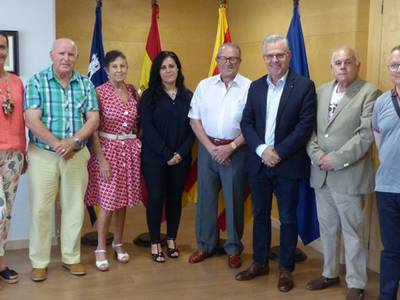 Es presenta la nova junta de l'associació de jubilats Esplai Salou