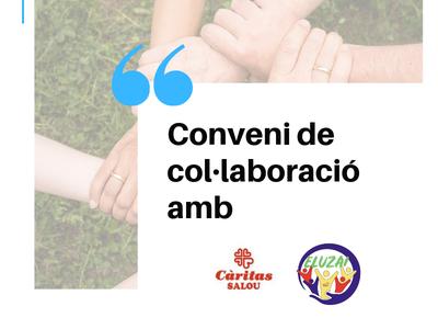 Es renova el conveni de col.laboració de Benestar i Serveis Socials de Salou amb Càritas Interparroquial i amb la Associación de Asistencia Social Eluzai