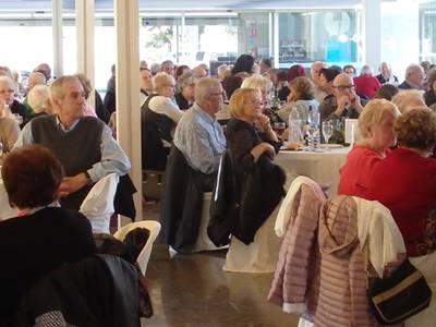 La capital de la Costa Daurada celebra el XXIV Dinar Homenatge a la Gent Gran de Salou