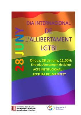 Salou reivindica els drets del col·lectiu LGBTI sumant-se al Dia de l'Orgull