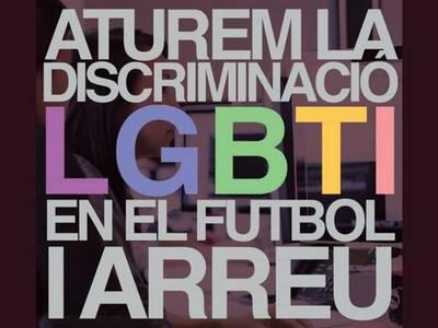 Salou se suma a la commemoració del Dia Internacional contra l'homofòbia al futbol