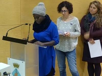 Salou se suma al Manifest del Dia Internacional per l'Eliminació de la Violència envers les Dones reivindicant la necessitat urgent d'un canvi en la societat