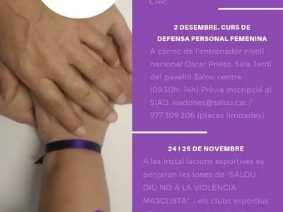 Salou se suma als actes del 25N per rebutjar la violència contra les dones