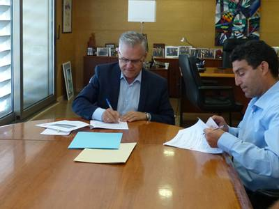Un any més l'Ajuntament de Salou i Creu Roja Tarragona han renovat el conveni de col·laboració