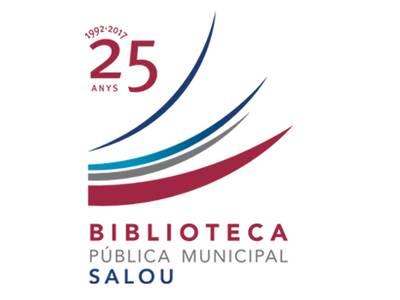 La biblioteca municipal de Salou redissenya el seu logotip coincidint amb els 25 anys de vida