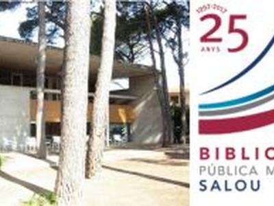 La Biblioteca Pública Municipal de Salou celebra el seu 25è aniversari amb una quinzena d'actes