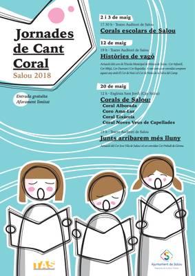 Programa de les Jornades de Cant Coral 2018