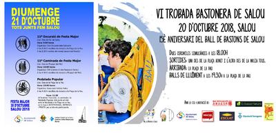 Dotze colles bastoneres participaran demà a la VI Trobada de Salou