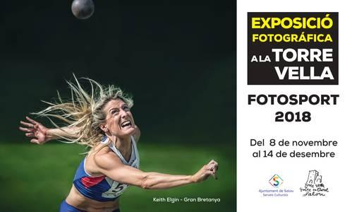 L'exposició XXV Biennal Internacional de Fotografia de l'Esport FOTOSPORT 2018 arriba demà divendres a la Torre Vella de Salou