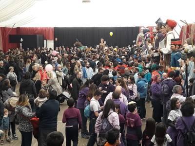 La 33ena trobada de gegants i la pedalada popular, protagonistes del primer diumenge de Festa Major