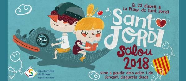 La diada de Sant Jordi arriba a Salou amb una gran varietat d'activitats per tota la família
