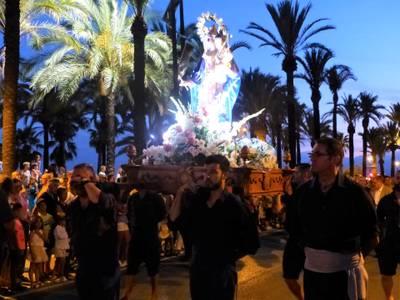Salou celebrarà el gran dia de les Nits Daurades amb la tradicional processó i el gran castell de focs d'artifici