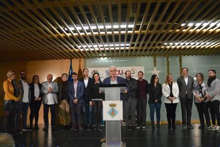 Felicitació de les festes nadalenques als treballadors i treballadores municipals i homenatge al conserge del Mercat, Francisco Rodríguez Yeste, jubilat enguany