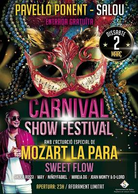 Salou organitza el primer Carnival Show Festival, una trobada que combina disfresses i música urbana