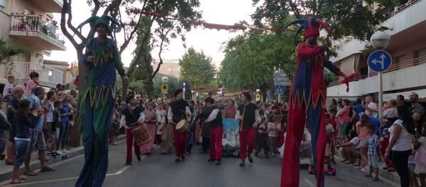 Salou rememora la sortida del Rei Jaume I cap a la conquesta de Mallorca amb una gran festa