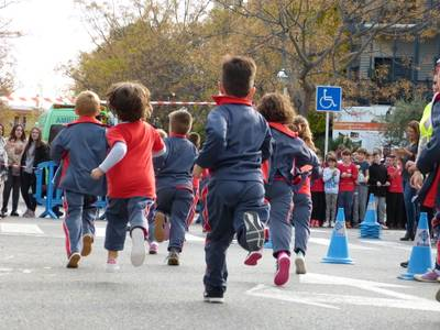 Diversos centres escolars de Salou se solidaritzen amb La Marató de TV3 2019 per sensibilitzar sobre les malalties minoritàries