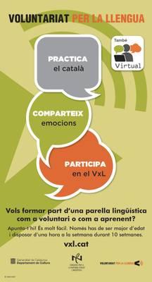 El Servei Local de Català de Salou prepara una nova edició del programa Voluntariat per la llengua