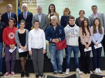 L'Ajuntament de Salou premia el talent dels millors estudiants del municipi