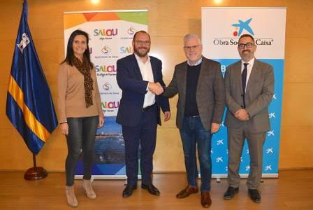 L'Ajuntament de Salou rep la col·laboració de l'Obra Social 'la Caixa' al projecte nouvinguts