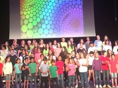 L'escola de Música de Salou omple el TAS amb el concert de les Jornades de Cant Coral