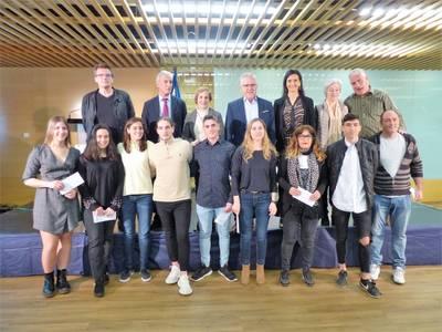 Salou premia un any més el talent dels joves estudiants del municipi