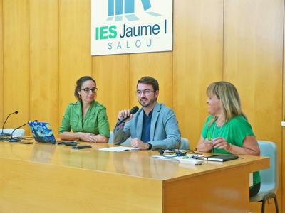 Un total de 160 alumnes de l'Institut Jaume I de Salou s'endinsaran en la història del Rei Jaume, en el marc de la iniciativa de la Generalitat de Catalunya 'Apadrinem el nostre patrimoni'