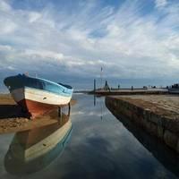 Monument Barques - Espigó del Moll