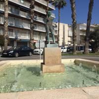 Monument Venus del Mediterrani de Julio Antonio - Plaça Venus