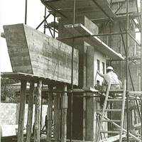 1965 - Monument Jaume I en construcció