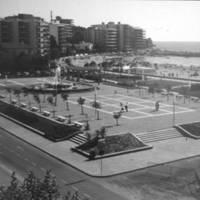 1980 - plaça de la Font Lluminosa