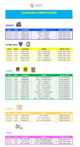 Calendari de competicions esportives del cap de setmana 30-31 de març a Salou